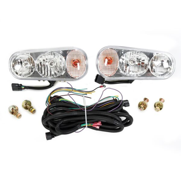 Universal Halogen Snow Plow Lights Kit For Boss Western Meyer Blizzard Curtis