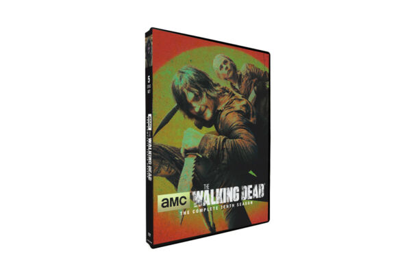 The Walking Dead: Season 10 DVD 5 Disc Set 2020 Fast Shipping new and sealed
