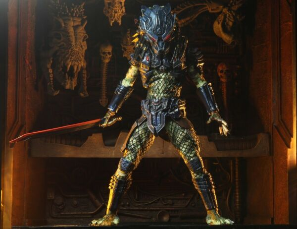 "NECA Predator 2 Ultimate Armored Lost Predator 7"" Scale Action Figure NEW $34.95"