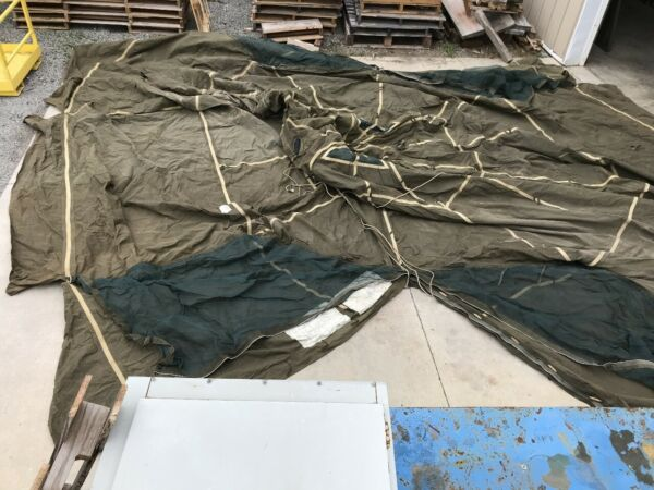 Military Tent MIL T 41810 8340 00 470 2335 GENERAL PURPOSE SMALL