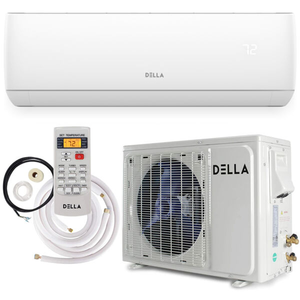 18000 BTU Inverter Heat Pump Air Conditioner Mini Split Wall Mount System 17SEER $809.96