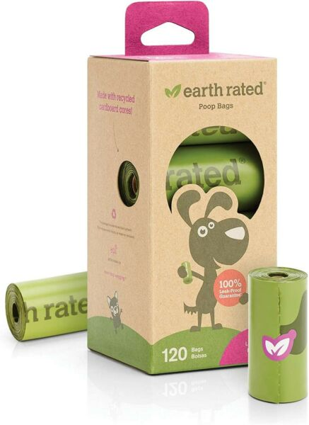 Poop Bags for Dog Earth Rated BIO270 9 x 13 inch 8 Roll $15.99