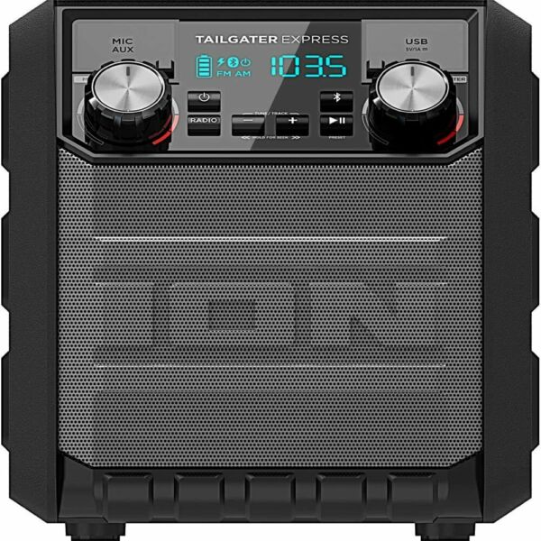Ion IPA70 Tailgater Express Portable Bluetooth Party Speaker 30 Hr Battery