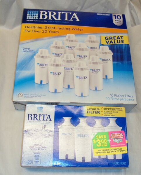 Brita Pitcher Replacement Water Filters LOT OF 15 NEW amp; SEALED