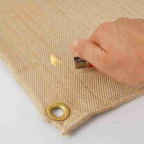 Outdoor Heat Resistant Fire proof Cloth Be Safe Camping Tool Fire Free Shipping $24.99