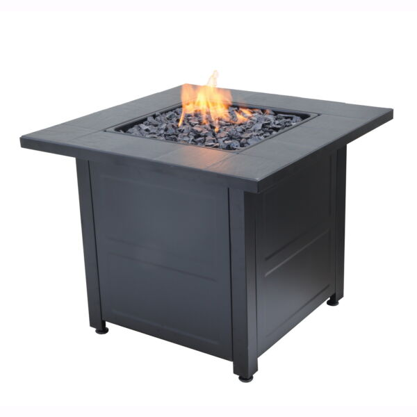 Propane Gas Fire Pit Outdoor Patio Heater Portable Firebowl Space Fireplace 24quot;