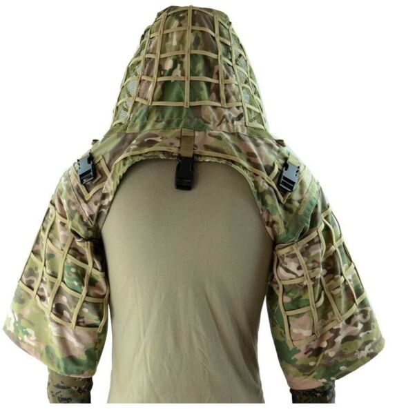 Sniper Ghillie Suit FoundationRipstop Ghillie Viper HoodCamouflage Sniper Co