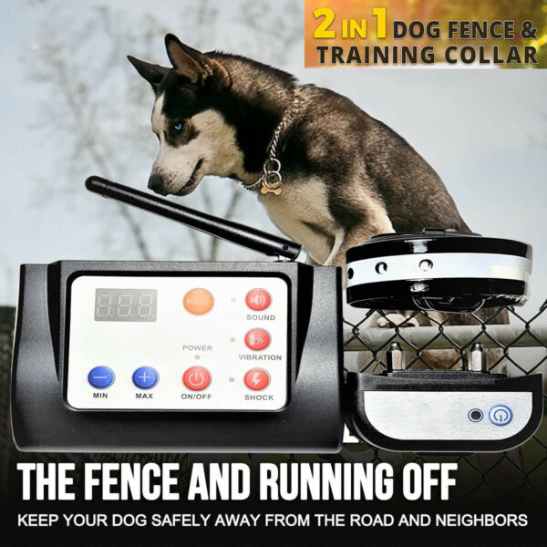 Wireless Dog Fence Electric Pet Containment System Waterproof amp; Rechargeable US $79.99