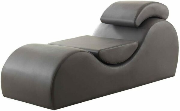 Yoga Chaise Multifunctional Lounge Chair Sex Sofa Lounger Faux Leather Couch $369.99