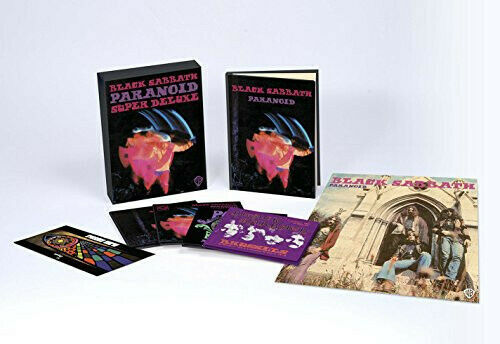 Black Sabbath Paranoid New CD Boxed Set Deluxe Ed With Book $37.95