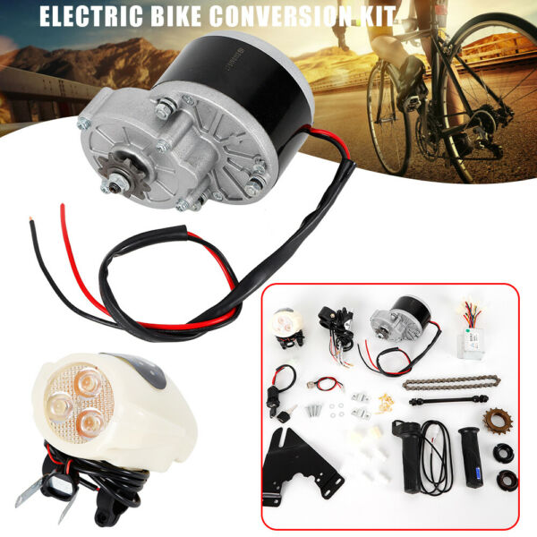 E BIKE Conversion Kit Electric Bicycle Motor Set 24V for 22#x27;#x27; 29#x27;#x27; Bike DIY $56.00