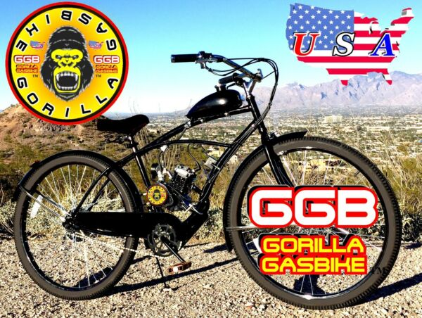 66cc 80cc 2 STROKE MOTORIZED BIKE KIT AND MONSTER CRUISER BIKE DIY POWER $399.99