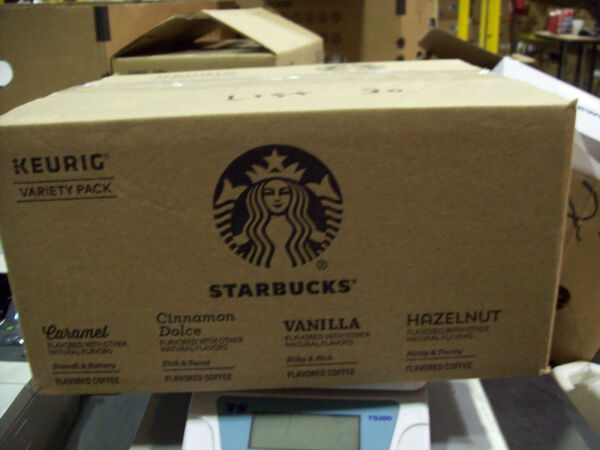 Starbucks Flavored K Cup Coffee 128 Pods — Variety Pack for Keurig BB 03 2020