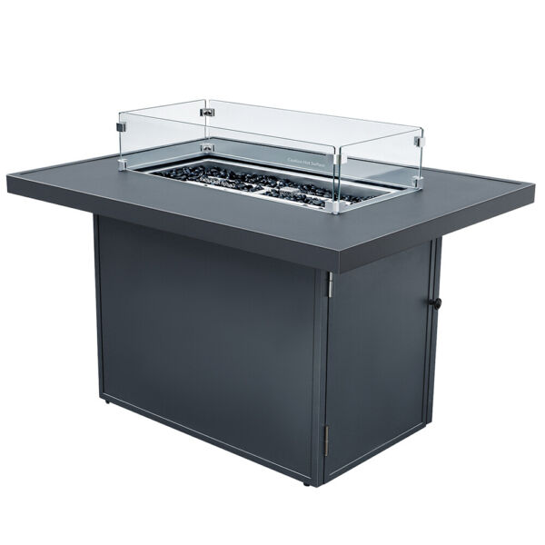 Outdoor Aluminum Sofa Set With Dark Gray Cushion Sectional Furniture Couch Patio $240.00
