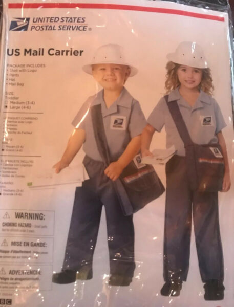 Us Mail Carrier Costumes For Kids $15.00