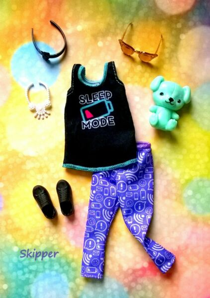 🍃Barbie Skipper Doll Clothes accessories and shoes#B🍃