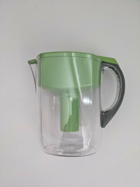 Brita Grand Pitcher Brita Water Filtration Pitcher 10 Cup Green Clear