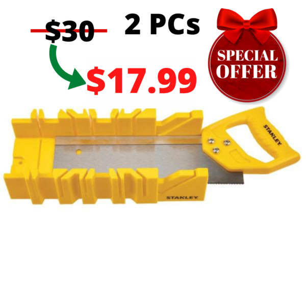 Stanley Miter Box with Saw Included