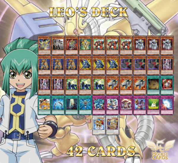 Yugioh 5D#x27;s Leo Deck Morphtronics Lifestream Dragon Power Tool Dragon