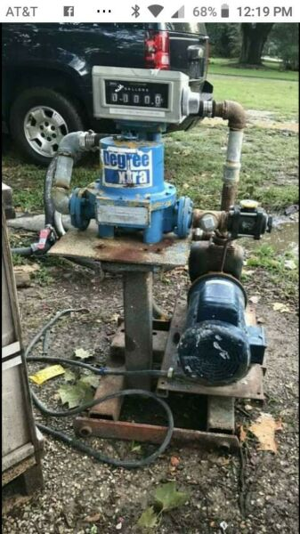 Industrial NH3 Pump Station with Schlumberger 4682 15 AF L 1 Flow Meter w Motor $200.00