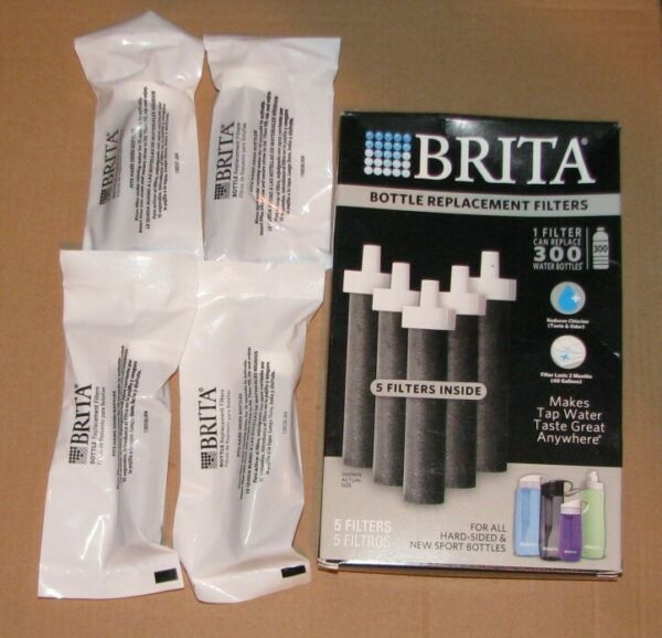 NEW Lot OF 4 Brita Bottle Replacement Filters BB06 Hard Sided amp; Sport Bottles