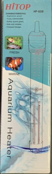 NEW HITOP HP 608 Submersible Aquarium Heater 50W NEW amp; FREE SHIPPING $18.90