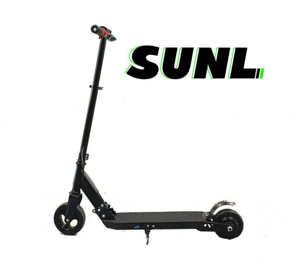 SUNL Kids Foldable Electric K1 Scooter 6quot; Tire Adjust Height 10mph