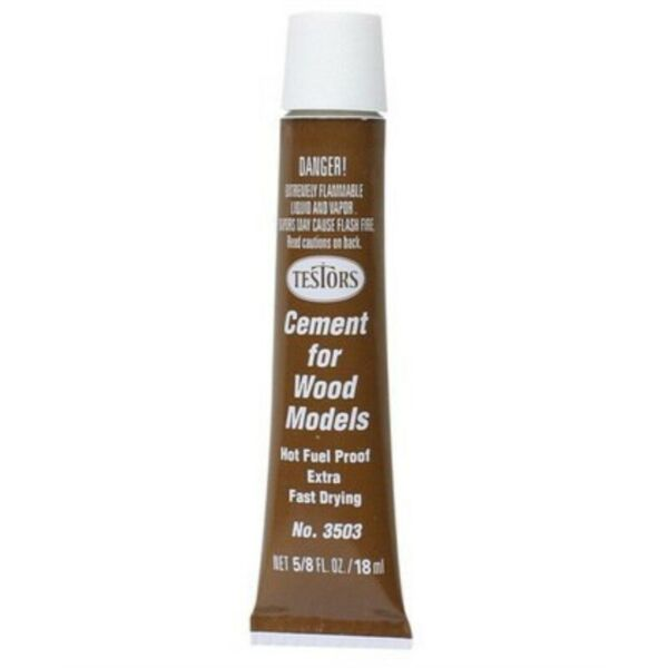fast drying wood cement by testors $10.26
