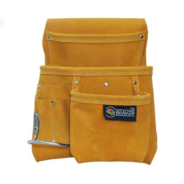 Suede Leather Single Tool Pouch with Hammer Holder SP501 AU $40.00