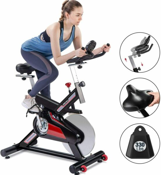 Merax Fitness Stationary Exercise Bike Indoor Cycling Bike Home Cardio Workout $299.99