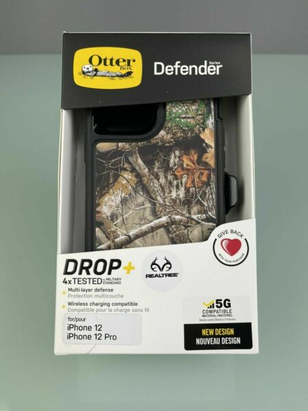 OEM Otterbox Defender Case In Realtree Camo For Apple IPhone 12 Pro 77 65764