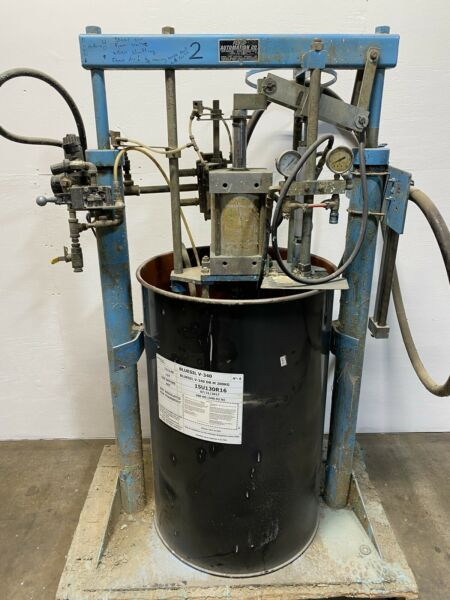 Fluid Automation 55 Drum Pump Pneumatic Adhesive Silicone D7B $1500.00