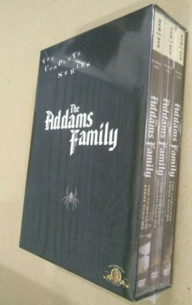 The Addams Family Complete Series DVD 2007 9 Disc Set