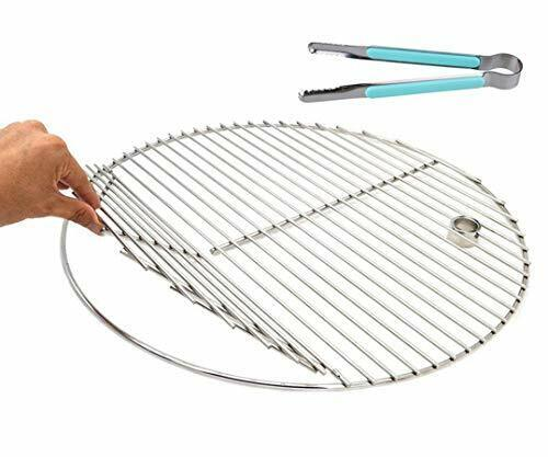BBQ Grate Stainless Steel Round Replacement Cooking Grid Grills Tool For Akorn