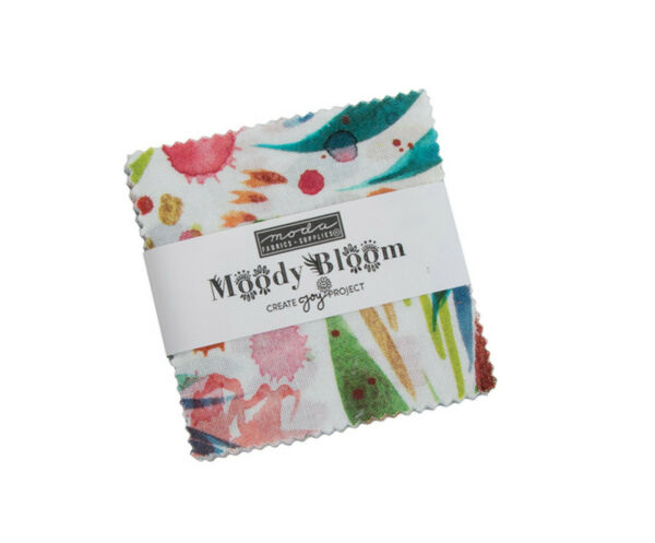 Moody Bloom Moda Mini Charm Pack 42 100% Cotton 2.5quot; Precut Squares