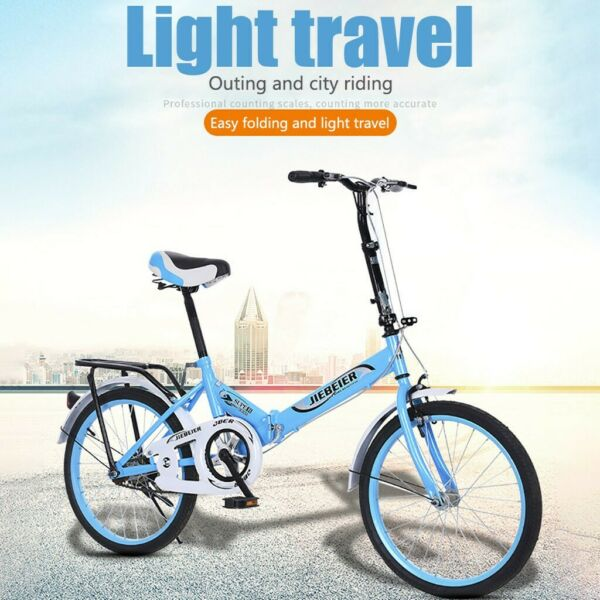 Folding 20in Adult Students Ultra Light Portable Women#x27;s City Mountain Cycling $114.99