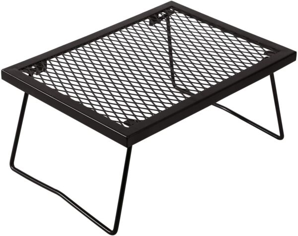 RedSwing Portable Folding Campfire Grill Heavy Duty Outdoor Camping Grill Grate