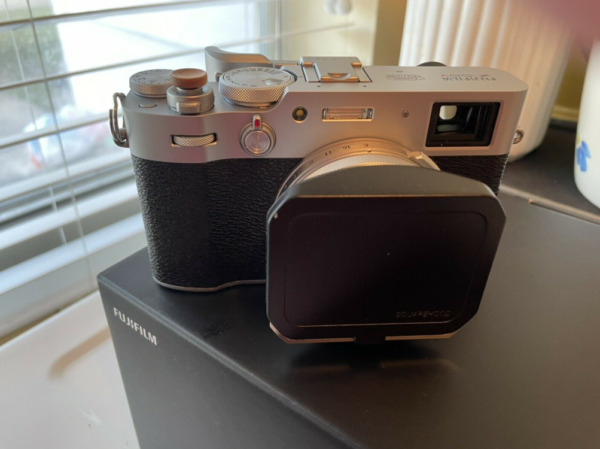 Fujifilm X100V 26.1MP Compact Camera Silver