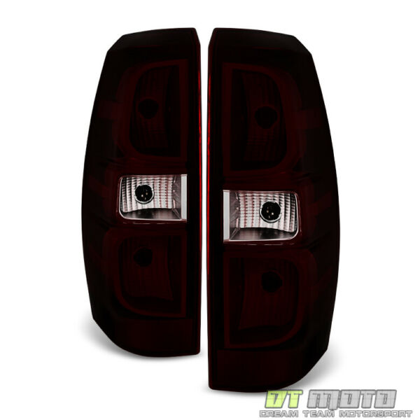 Red Smoke 2007 2013 Chevy Avalanche Tail Lights Lamps Aftermarket Set LeftRight $79.96