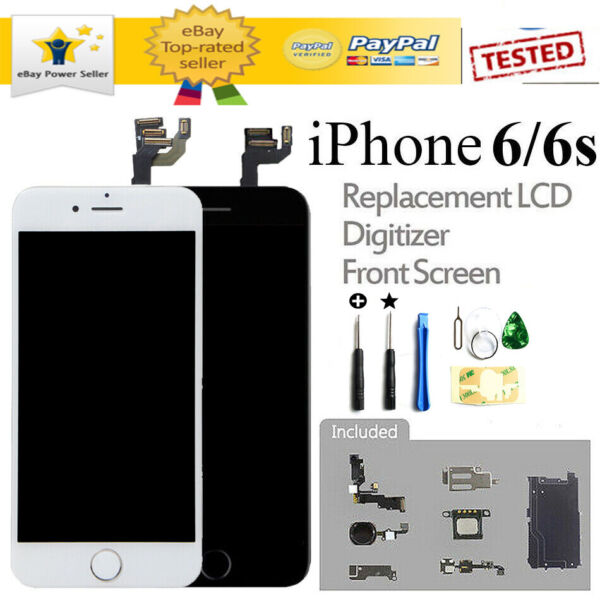 Home Button amp; Camera LCD Display For iPhone 6S 6 Screen Replacement Full Sets $19.98