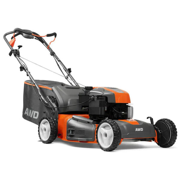 HUSQVARNA 22quot; 3 N 1 RWD SELF PROPEL MOWER DELUXE BRIGGS amp; STRATTON 7.25EX ENGINE $379.99