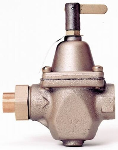 WATTS 1 2quot; Pressure Reducing Boiler Feed Valve New S1156F STD $49.99