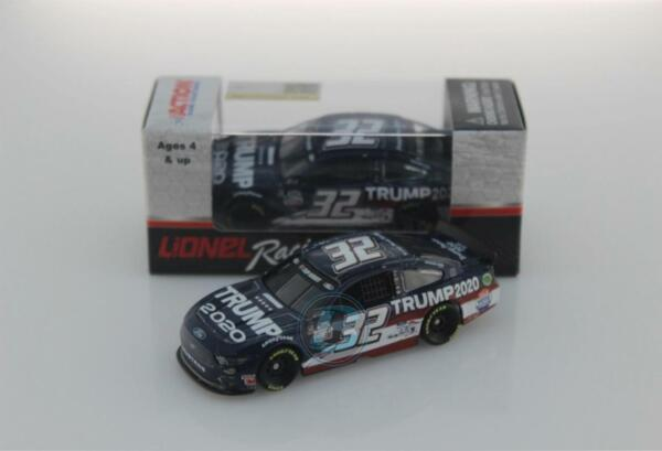 NASCAR 2020 GO FAS RACING #32 TRUMP 1 64 CAR IN STOCK