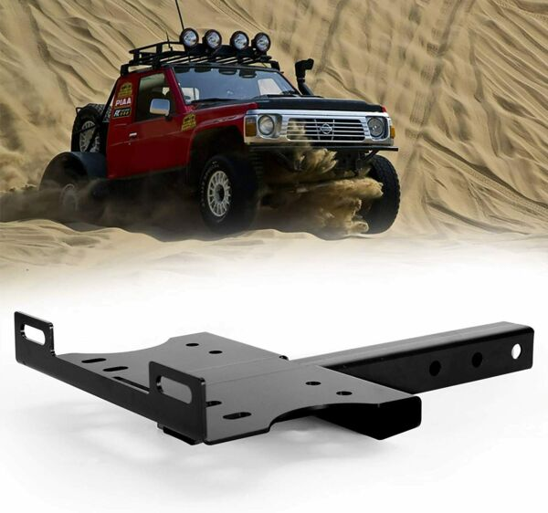 Winch Cradle Mount Plate 2quot; Receiver Hitch Winch Mounting Bracket for ATV UTV $51.99