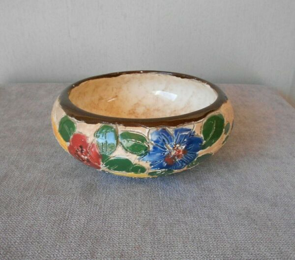 1940s French Vintage ceramic Cup bowl MASSIER