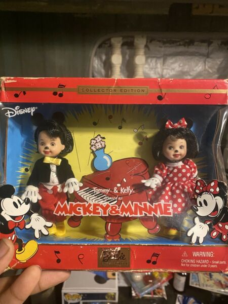 Tommy and Kelly as Mickey amp; Minnie Barbie Collectors Edition Mattel 2002 $29.99