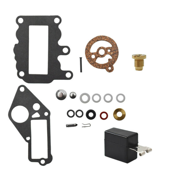 For Johnson Evinrude Outboard 9.5 BRP OMC Carburetor Carb Kit w Float 382048 $9.79