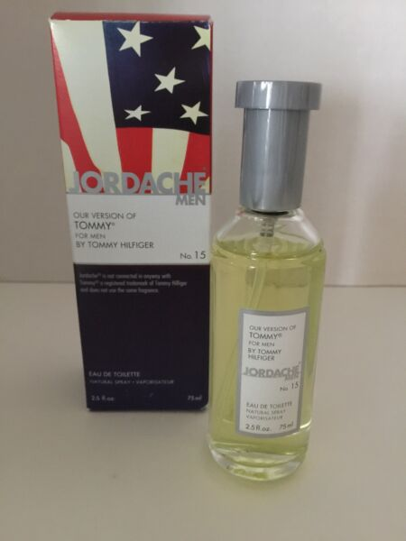 JORDACHE VERSION OF TOMMY FOR MEN BY TOMMY HILFIGER NIB 2.5FLOZ Natural Spray $14.96