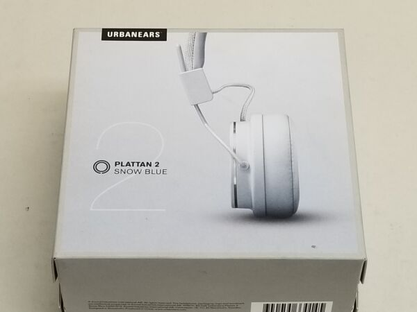 New Urbanears Plattan 2 Snow Blue Over Ear Headphones
