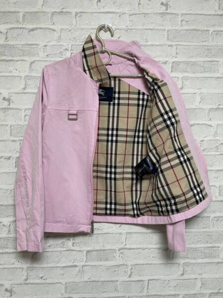 Burberry Women's Pink Jacket Made in USA Size 2 $75.00